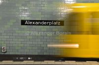 U-Bahnhof Berlin Alexanderplatz